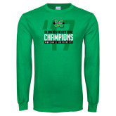 Kelly Green Long Sleeve T Shirt-Gildan New Mexico Bowl