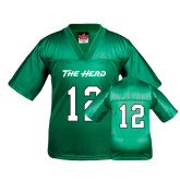 Youth Replica Kelly Green Football Jersey-#12