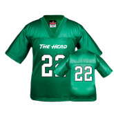 Youth Replica Kelly Green Football Jersey-#22