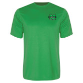 Performance Kelly Green Tee-M Marshall
