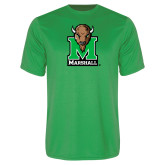 Syntrel Performance Kelly Green Tee-Official Logo