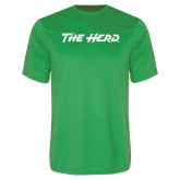 Performance Kelly Green Tee-The Herd
