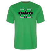 Performance Kelly Green Tee-Soccer