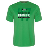 Performance Kelly Green Tee-Gildan New Mexico Bowl