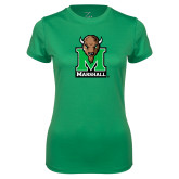 Ladies Syntrel Performance Kelly Tee-Official Logo