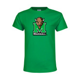 Youth Kelly Green T Shirt-Official Logo
