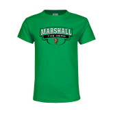 Youth Kelly Green T Shirt-Marshall The Herd Design