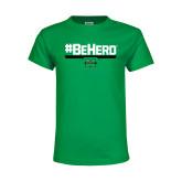 Youth Kelly Green T Shirt-BeHerd