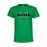 Youth Kelly Green T Shirt-Track