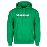 Kelly Green Fleece Hood-Marshall University