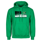 Kelly Green Fleece Hood-Big Green