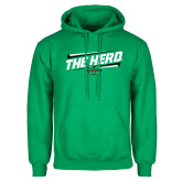 Kelly Green Fleece Hood-The Herd Fancy Lines