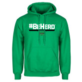 Kelly Green Fleece Hood-BeHerd