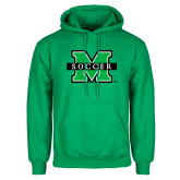 Kelly Green Fleece Hood-Soccer