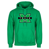 Kelly Green Fleece Hoodie-Track