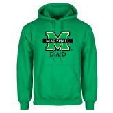Kelly Green Fleece Hood-Dad