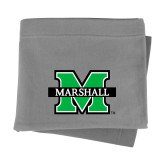 Grey Sweatshirt Blanket-M Marshall