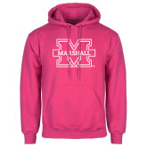 Fuchsia Fleece Hood-M Marshall