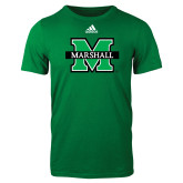 Adidas Kelly Green Logo T Shirt-M Marshall