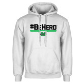 White Fleece Hood-BeHerd