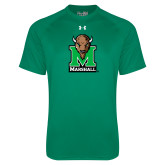 Under Armour Kelly Green Tech Tee-Official Logo