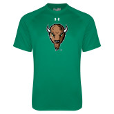 Under Armour Kelly Green Tech Tee-Mascot Head