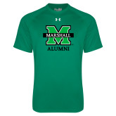 Under Armour Kelly Green Tech Tee-Alumni
