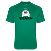 Under Armour Kelly Green Tech Tee-Baseball Hat Design
