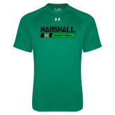 Under Armour Kelly Green Tech Tee-Basketball Bar Design