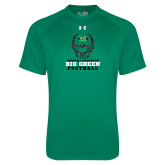 Under Armour Kelly Green Tech Tee-Football Helmet Design