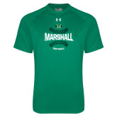 Under Armour Kelly Green Tech Tee-Softball Ball Design