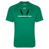 Under Armour Kelly Green Tech Tee-Track and Field Wings Design