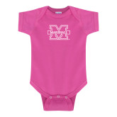 Fuchsia Infant Onesie-M Marshall