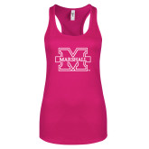 Next Level Ladies Raspberry Ideal Racerback Tank-M Marshall