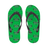 Ladies Full Color Flip Flops-M Marshall