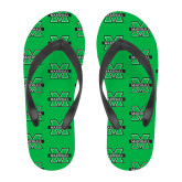 Full Color Flip Flops-M Marshall