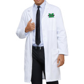 Mens White Lab Coat-M Marshall
