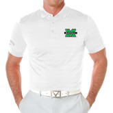 Callaway Opti Vent White Polo-M Marshall