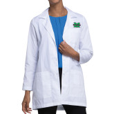Ladies White Lab Coat-M Marshall