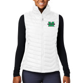 Columbia Lake 22 Ladies White Vest-M Marshall