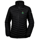 Columbia Lake 22 Ladies Black Jacket-Official Logo