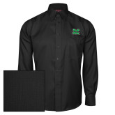 Red House Black Herringbone Long Sleeve Shirt-M Marshall