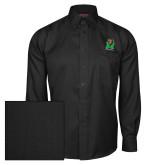 Red House Black Herringbone Long Sleeve Shirt-Official Logo