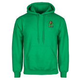Kelly Green Fleece Hood-Official Logo