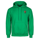 Kelly Green Fleece Hood-Mascot Head
