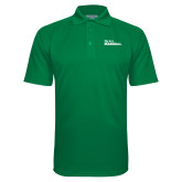 Kelly Green Textured Saddle Shoulder Polo-We Are Marshall