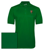 Kelly Green Dry Mesh Polo-Mascot Head