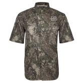 Camo Short Sleeve Performance Fishing Shirt-M Marshall