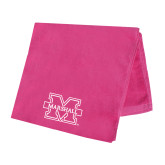 Pink Beach Towel-M Marshall