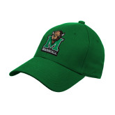 Kelly Green Heavyweight Twill Pro Style Hat-Official Logo